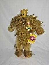 Wizard of Oz 1987 COWARDLY LION - Loew's MGM Turner - Figurine Doll