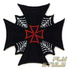 para planchar Cruz de Hierro ROCKABILLY Spider Cobweb GOTH Parche