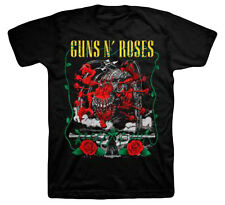Guns N Roses Appetite Creature and Pistols Adult T-Shirt - Hard Rock band Music
