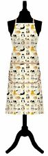 SAMUEL LAMONT CUTE & QUIRKY WHEN THE CAT'S AWAY 100% COTTON APRON BY McCAW ALLAN