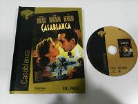 CASABLANCA DVD + LIBRO EDICION ESPECIAL HUMPHREY BOGART INGRID BERGMAN