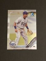 WANDER FRANCO 2019 Bowman Chrome Draft Rookie BDC-93 Tampa Bay Rays
