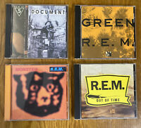 R.E.M. CD Lot (Monster, Document, Green, Out Of Time)
