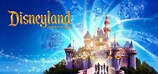 Four (4) One - Day Disneyland/California Adventure Parkhopper Tickets