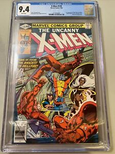 X-men 129 CGC 9.4 Marvel Comics 1980 White Pages First Appearance Of Kitty Pryde