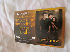 Twilight New Moon NECA Trading Card t-2 Robert Pattinson, Kristen Stewart