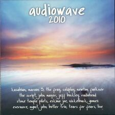 Audiowave 2010 2-disc CD NEW Buckley Daughtry Coldplay