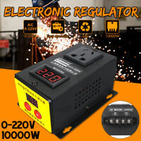 10000W 0-220V SCR Variable Voltage Controller For Fan Speed Motor Control  !