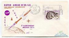 1974 Super Arcas 35/46 2° Tir Meteo NASA CNES Kourou Guyane Francaise Ville