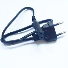 Short EU AC  power cable cord 0.5M 1.5FT Figure 8 C7 to Eu European 2 pin PLug
