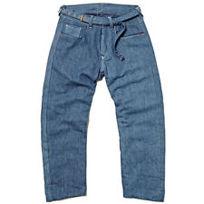 Levi'S RED RANGE Foderato Jackpot INDIGO Jeans a Cinque Tasche RARA W34 RRP 525 nuovo senza etichetta