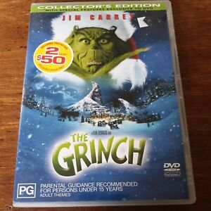 The Grinch Collector's Edition DVD R4 Like New! FREE POST