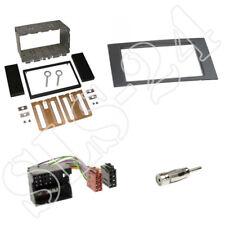 Doble DIN radio diafragma + adaptador ISO Ford Focus Kuga fiesta tránsito S-Max bis2008