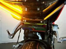Honda CBR 600RR Extreme LED Fender Eliminator; Red Turn Signals - Clear Lens