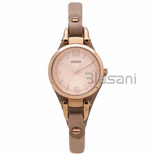 Fossil Original ES3262 Women's Georgia Mini Sand Leather Watch 26mm