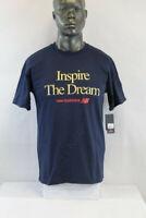 New Balance S/S INSPIRE THE DREAM T-SHIRT BLUE/MULTICOLOR MT01602-TNV
