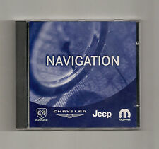2004 - 2008 Chrysler Pacifica Jeep Patriot Compass Navigation CD Map 2012 Update