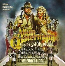 ALLAN QUATERMAIN ET LA CITE DE L'OR PERDUE - MICHAEL LINN - JERRY GOLDSMITH (CD)