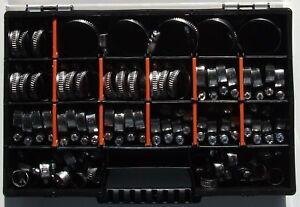 50 x Schlauchschellen Klemmschellen Edelstahl  W2 Sortiment 8-60mm  DIN 3017