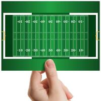 "American Football Pitch - Small Photograph 6"" x 4"" Art Print Photo Gift #8135"