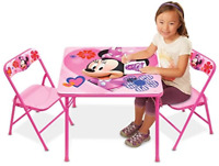Minnie Activity Table Set with 2 Chairs
