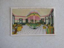 c665 Vintage postcard New Hiawatha Bar Stantons Palm Garden Wisconsin Dells WI