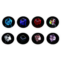 1Pair Aquare Magnetic Clip On Ear Stud Earrings No Piercing Mens Women Gothic