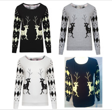 NEW CHRISTMAS XMAS TOP JUMPER  MENS LADIES UNISEX TOP SWET SHIRT