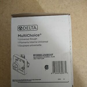 Delta MultiChoice Universal Valve Body Rough-In Kit High Flow R1000-UNBXHF