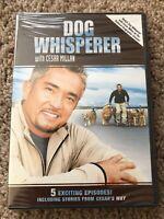 Dog Whisperer with Cesar Millan (DVD, 2006, Full Screen) Brand New, Sealed.