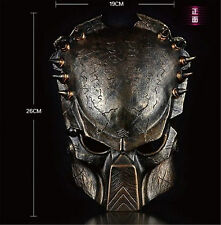Alien vs Predator Mask AvP Movie Replica Collection Predators Prop Free