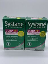 Systane Ultra Lubricant Eye Drops - 0.7ml (25 Count) Exp 09/21 FAST SHIPPING 👌