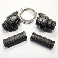 Shimano RevoShift SL-RS25 Twist Grip Shifter -3/5/18 Speed Black US New