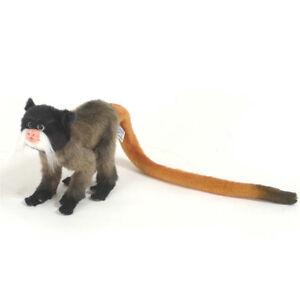 Emporer Tamarin Monkey Hansa Realistic Soft Animal Plush Toy 20cm *FREE DELIVERY
