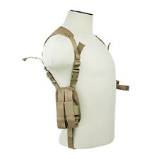 NcSTAR Tan Shoulder Holster w/ Mag Pouches Fits COLT 45 Kimber S&W Ruger 1911
