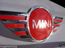 Mini Cooper Emblem Overlay Repair???? 02 03 04 05 06 07 08 09 2010 2011 2012 13