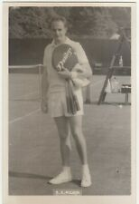 "Tennis - Postcard Size Photograph of Robert Keith ""Bobby"" Wilson Top GB Player"