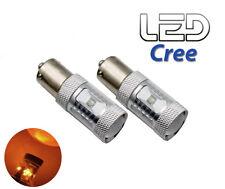 2 Ampoules BAU15s PY21w Orange Lens LED Cree super puissant clignotants