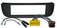 Radio Blende Adapter passend für NISSAN Almera Tino Autoradio Rahmen Antennen
