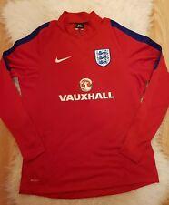 Nike England vauxhall Drill Top jumper midlayer football vapor sweatshirt Size M
