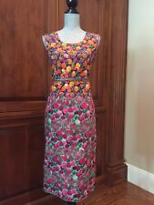 Brand New Runway Marc Jacobs Floral Sheath Dress Size 8