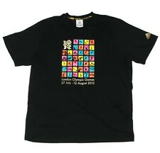 ADIDAS LONDON 2012 OLYMPIC GAMES Men's T-Shirt Sport Icons size XL NEW - 194