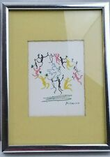 Collectibles Art Pablo Picasso Classic Series La Ronde Dance Of All Nations