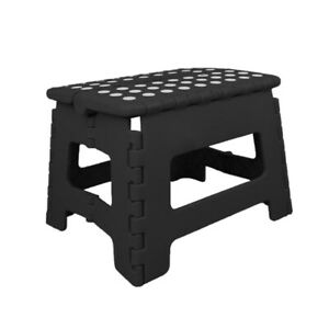 """Super Strong Folding STEP STOOL - 11"""" Height - Holds up to 300 Lb"""