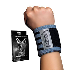 Venom Wrist Brace Compression Wrap w/ Thumb Loop Elastic Support Tendonitis Pain