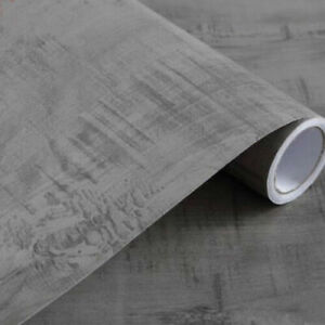 Grey Wood Wallpaper Vintage Peel and Stick Contact Paper Self Adhesive