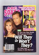 ABC SOAPS IN DEPTH GENERAL HOSPITAL WILL THEY OR WON'T THEY MAY 2003