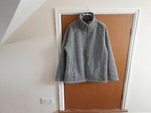 Craghoppers ladies jacket size 16, grey tweed with fleece lining BNWT