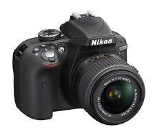 NIKON D3300 DSLR Camera with AF-P 18-55 VR II Lens Black