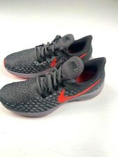 NIKE Air Zoom Pegasus 35 Mens Running Shoes Size US 7 Gray/Red